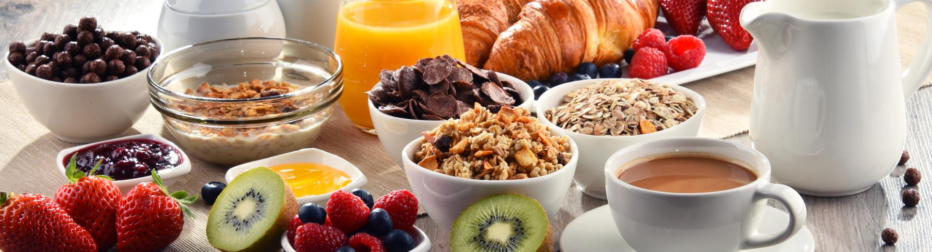 Breakfast is free for Gold, Platinum, Diamond and Diamond Select BWR® members